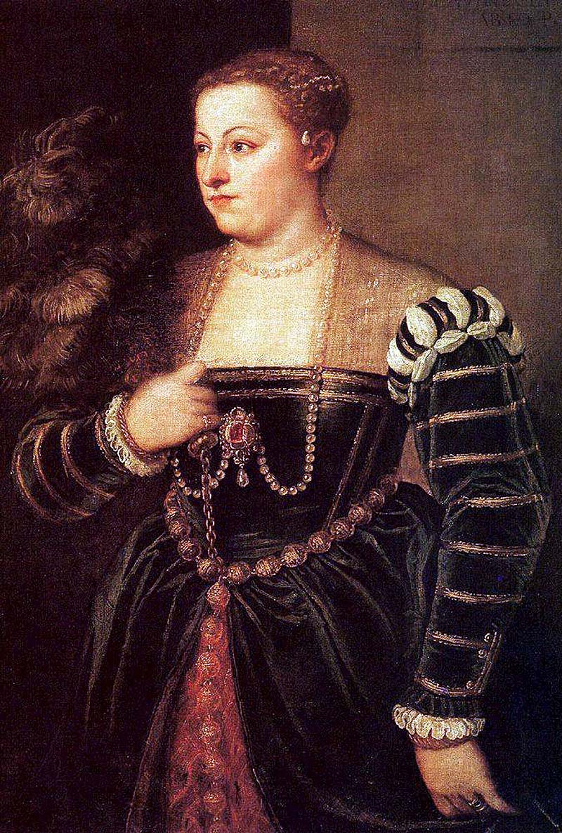Titziano Vecellio (Titian) Portrait of Titian's Daughter Lavinia