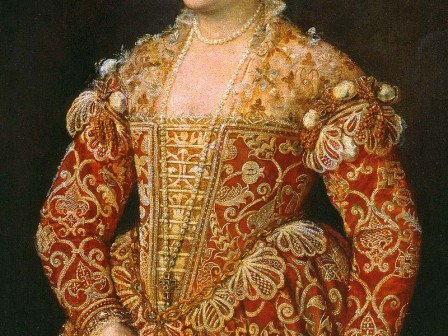 Paolo Caliari Veronese Portrait of a Woman Holding Gloves National Gallery of Ireland, Dublin ca. 1560