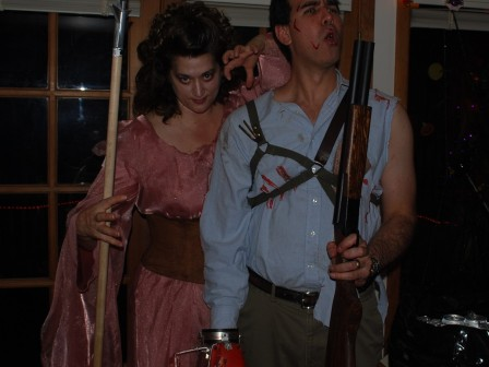 Army of Darkness costumes, Ash and Evil Sheila