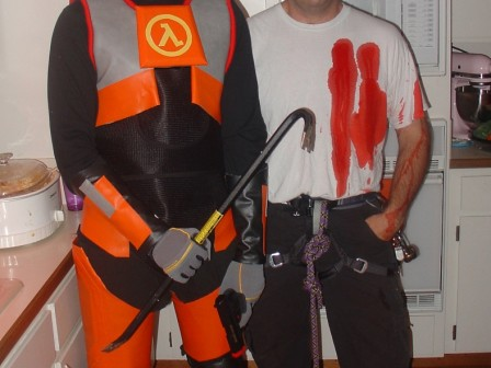 Gordon Freeman Costume from the Half Life Video Game