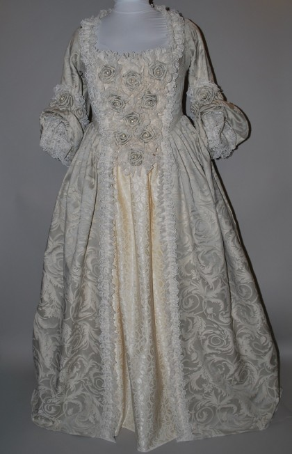 Roses & Pearls 18th Century Gown