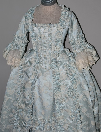Light Blue 18th Century Gown