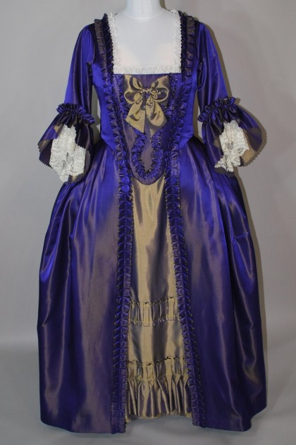 Purple Robe a la Francaise