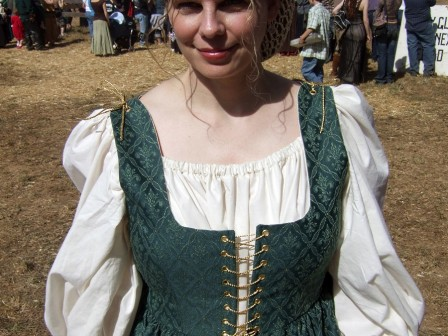 Green Renaissance Faire Costume