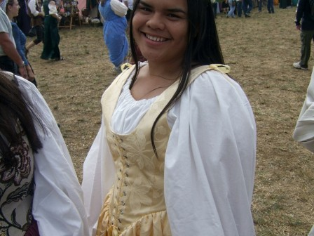 Yellow Renaissance Faire Costume
