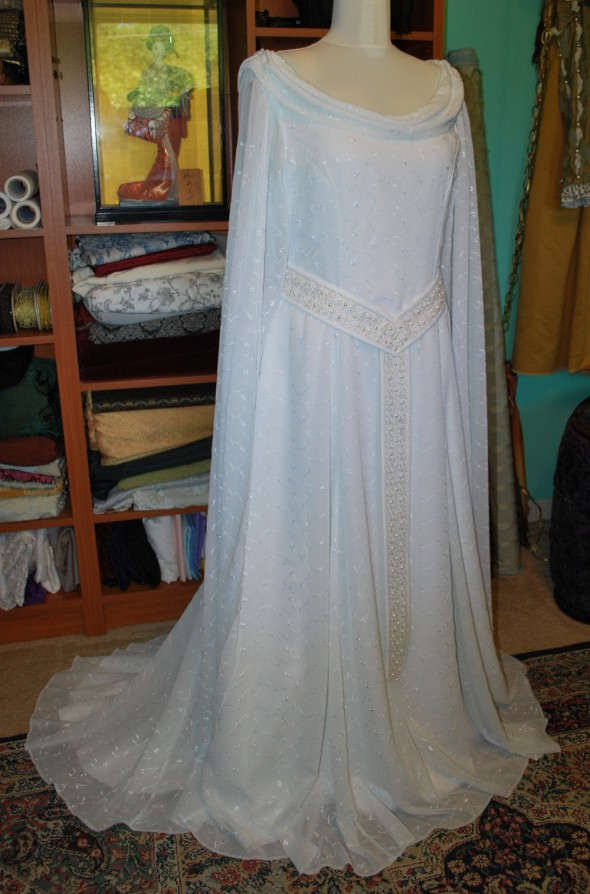 A Galadriel Gown